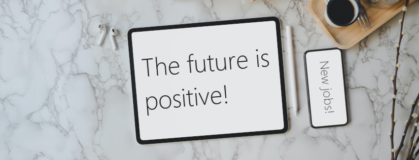 Future is positive blog banner